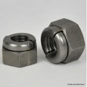 Aerotight Self-Locking Nuts, Metric, Stainless Steel