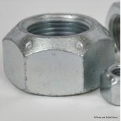 Coneloc Self-Locking Nuts, Imperial, UNC, Steel