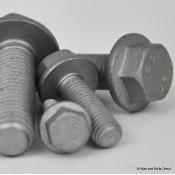 Flange Hex Bolts 10.9 Grade Steel, Metric, Geomet