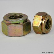 Philidas Self-Locking Nuts, Metric, Steel