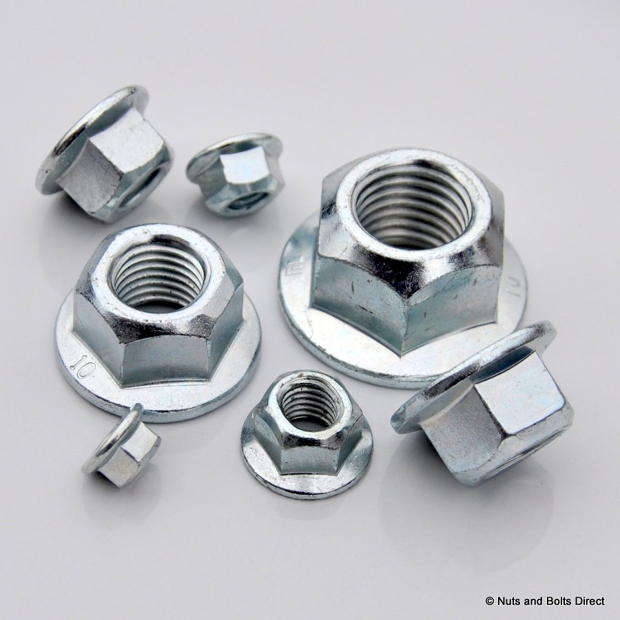 Coneloc Flanged Nuts